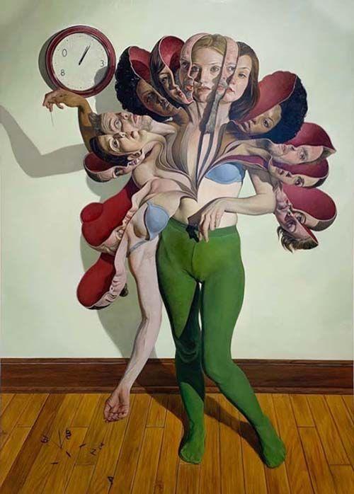 Blosson II (2017). Obra de Erik Thor Sandberg. Selfies. Teoría de la Acción Dramatúrgica.
