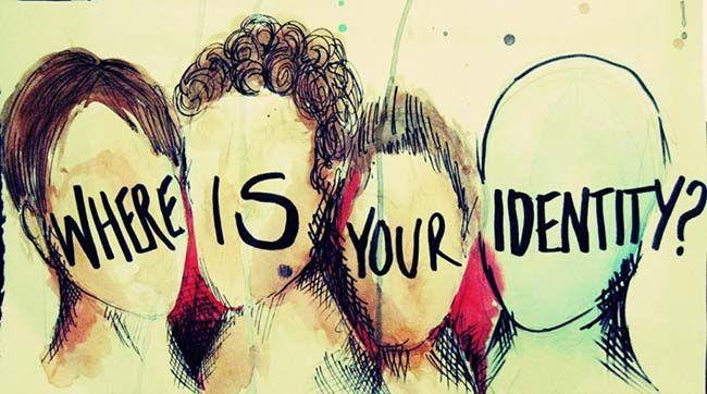 Where is your identity. Arte de internet. Autor sin identificar. Identidad. Selfie. Multiples caras. Ervin Goffman. Selfies