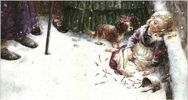 La cerillera. Finales Felices. Cultugrafía. Cuento de Navidad.