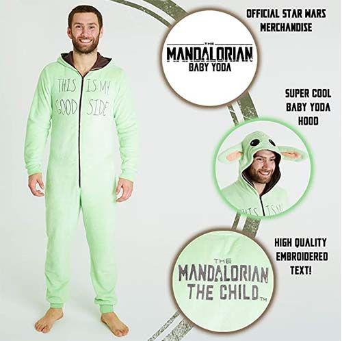 pijama baby yoda star wars el mandaloriano