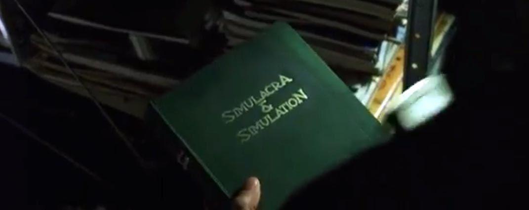 fotograma the matrix. Cultura, simulacro y simulación. Matrix y Baudrillard.