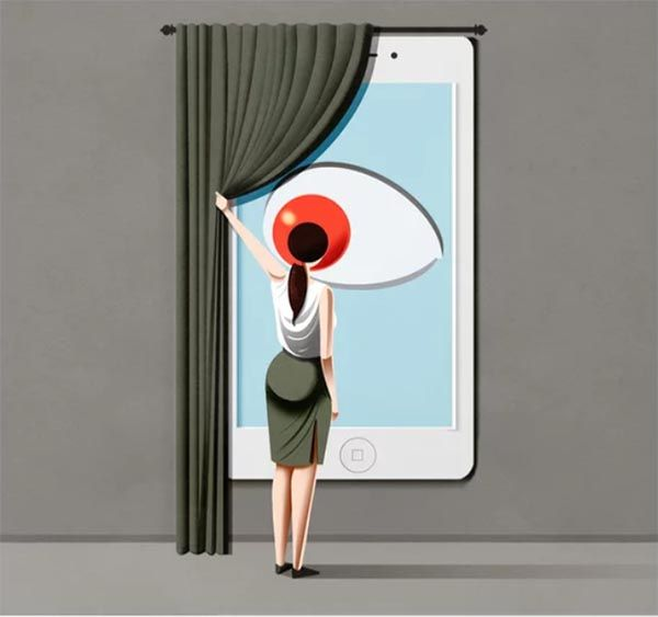 Smart Home. Obra de Marco Melgrati. Vigilancia. Panópticos. Socieda del espectáculo.