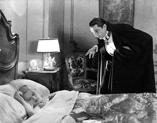 Cultugrafía. Fotograma de Drácula (1931), de Tod Browning. El sueño americano.