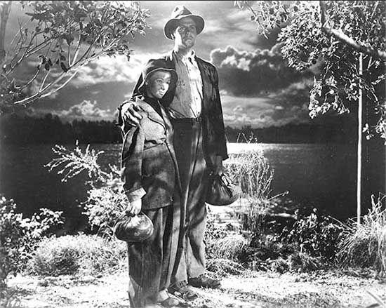 Cultugrafía. Fotograma de la película Los viajes de Sullivan (1941), de Preston Sturges. El sueño americano.