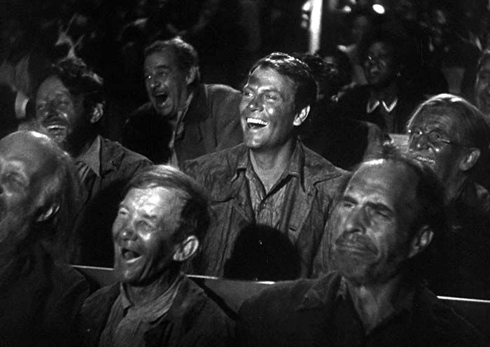 Cine. Cultugrafía. Fotograma de los viajes de sullivan (1941). Director Preston Sturges.