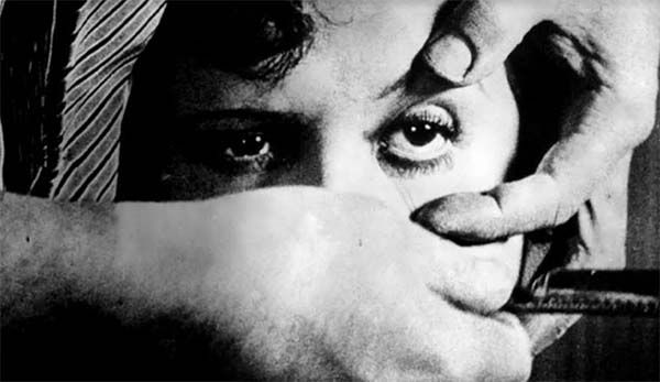 Cultugrafía. El sueño americano. •Fotograma de Un perro andaluz (1929), de Luis Buñuel.