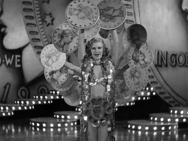 Cultugrafía. El sueño americano. Fotograma de Vampiresas 1933, de Marvyn LeRoy