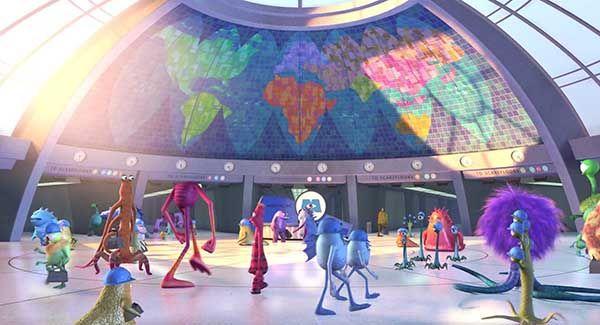 Monstruos S.A. Cine de Pixar. Corporación de Monstropolis. Animación.