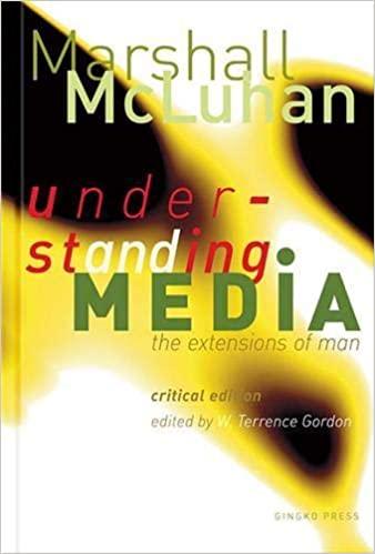 Understanding Media the extensions of man. Libro de Marshal McLuhan donde dejó su célebre frase: El medio es el mensaje.