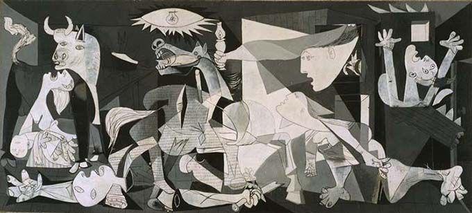 Guernica de Pablo Picasso. La visión personal del artista, el concepto y la arbitrariedad.