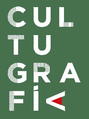 Logo versión slide móvil cultugrafía. Completo