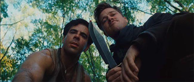 Eli Roth y Brad Pitt. Critica y difusión cultural. Cine en Cultugrafía