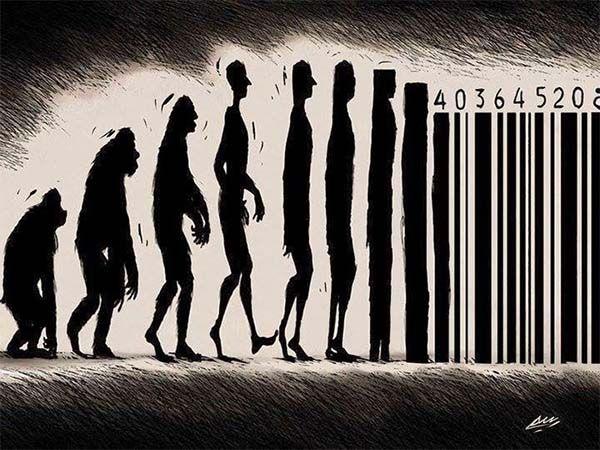 Evolución del ser humano. De primates a datos