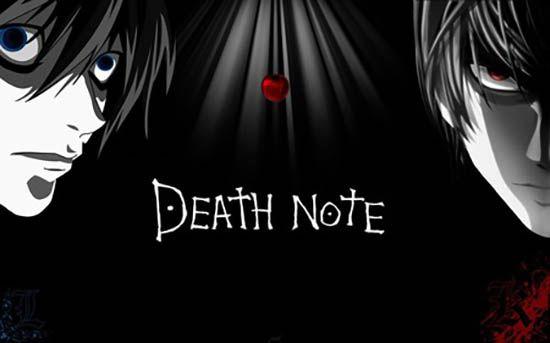 Manga-anime Death Note. Creado por Tsugumi Ōba, ilustrado por Takeshi Obata y adaptado al anime por Tetsurō Araki.