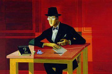 Poeta Fernando Pessoa.