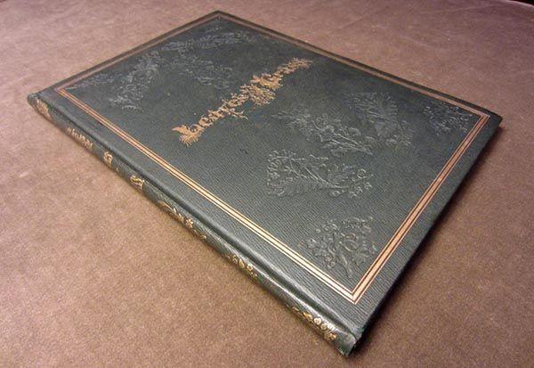 Leaves of Grass de Walt Whitman. Primera edición de 1855. Poesía y literatura en Cultugrafía.
