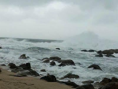Fotografía del mar de J. Barbadilla.