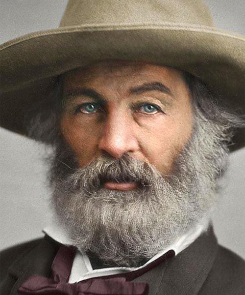 Retrato de Walt Whitman. Análisis de la naturaleza en la obra del poeta.