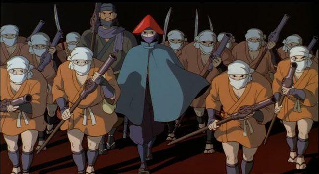 El progreso de la Ciudad del Hierro. La princesa Mononoke de Miyazaki