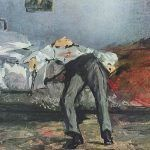 Edouard Manet - Le Suicidé. Artículo sobre el silencio y el tabú del suicidio