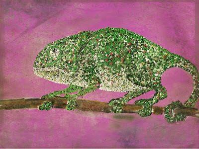 Camaleon. El hombre interpreta la naturaleza. La poesia de Alberto Caeiro.