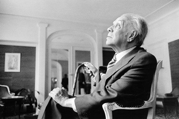 Jorge Luís Borges (1979). Fotografía: Getty.