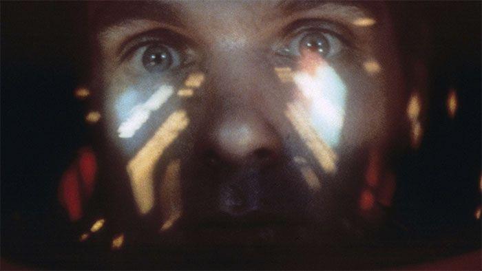 Fotograma de 2001 Odisea en el espacio, de Stanley Kubrick