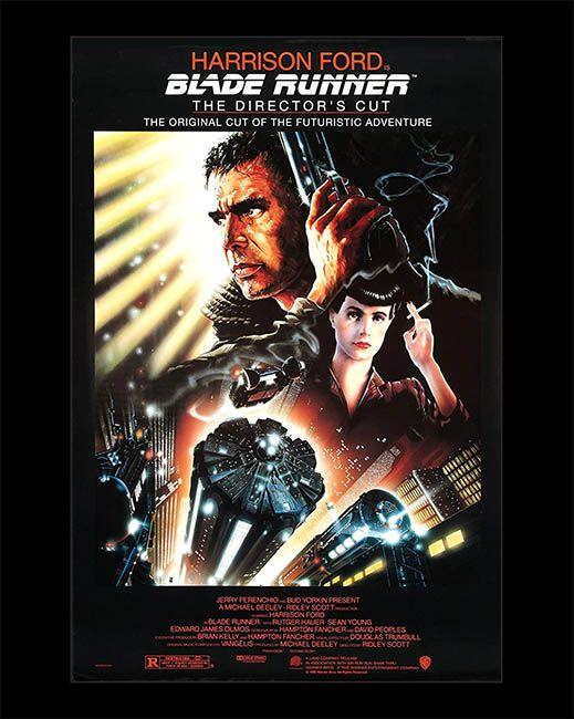Cartel de Blade Runner, con Harrison Ford. Cultugrafía, revista de difusión y crítica cultural