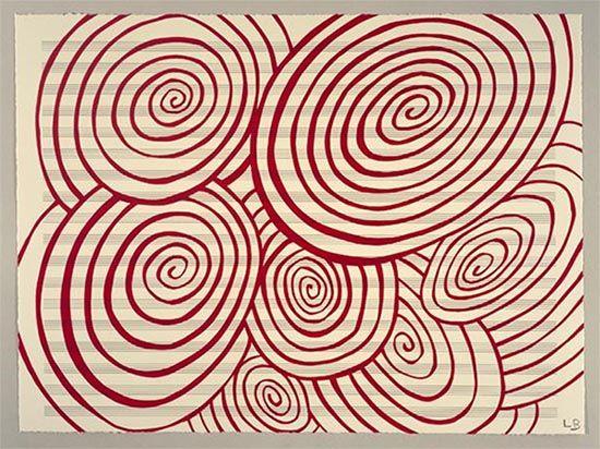 Espirales, obra de Louise Bourgeous. El arte puro, el arte virgen, el arte del incosciente.