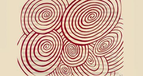 Imagen destacada. Espirales, obra de Louise Bourgeous. El arte puro, el arte virgen, el arte del incosciente.