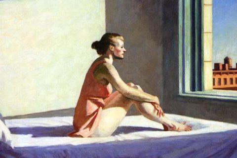 Morning Sun (1952), Edward Hopper. Cultugrafía, el solipsismo programado.