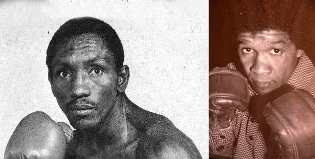 Los boxeadores de Chambacú Antonio Cervantes y Bernardo Caraballo
