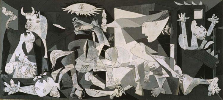 Guernica (1937), de Pablo Picasso.