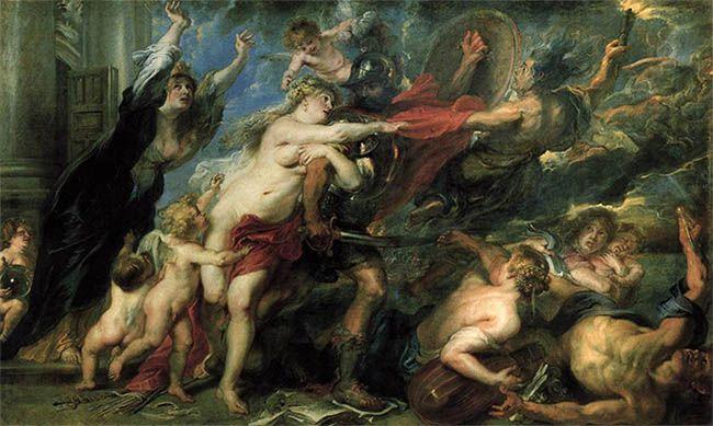 Los horrores de la guerra de Rubens.